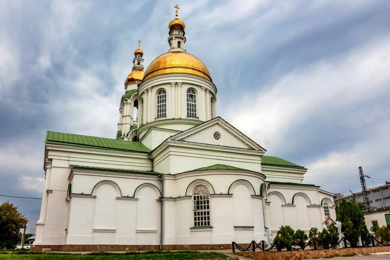 Cathédrale Mi-de la pentecôte à Rostov-On-Don, Russie image stock