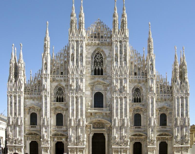 cathédrale Milan photographie stock