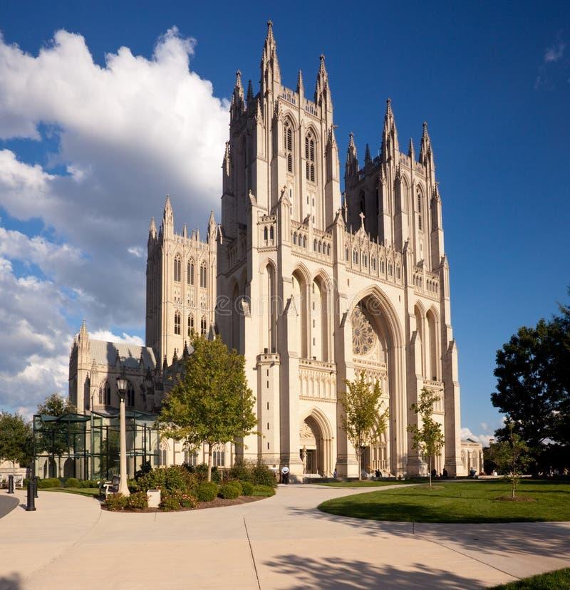 Cathédrale nationale dans le Washington DC images stock