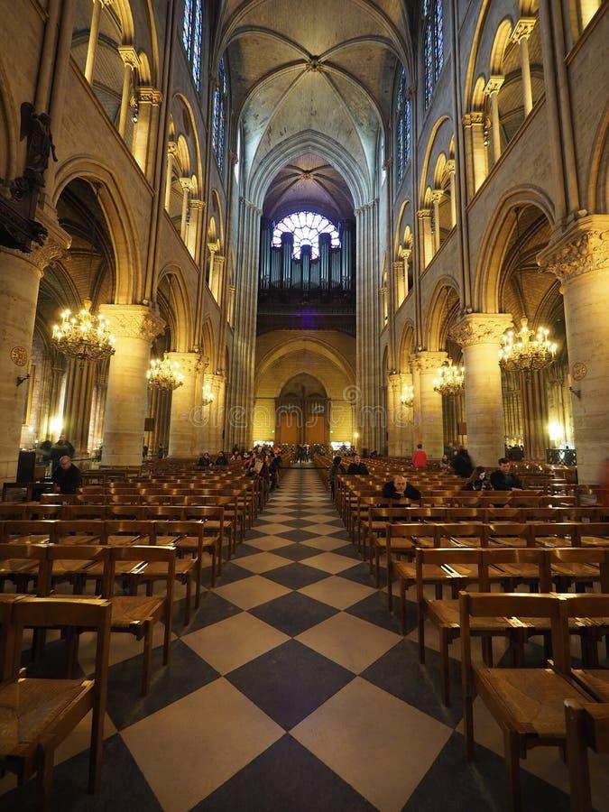 Cathédrale Notre Dame de Paris royalty free stock image