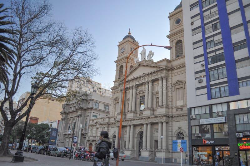 Cathédrale Nuestra Señora de la Merced en Bahia Blanca photos libres de droits