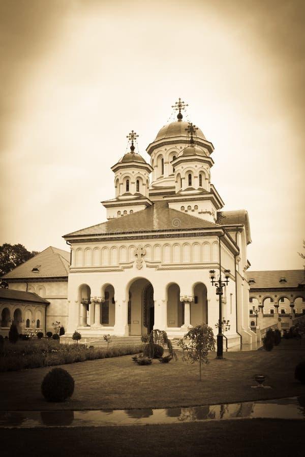 Cathédrale orthodoxe image stock