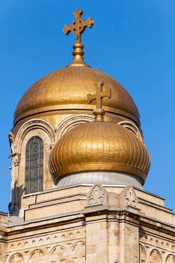 Cathédrale orthodoxe de Varna, Bulgarie photo libre de droits
