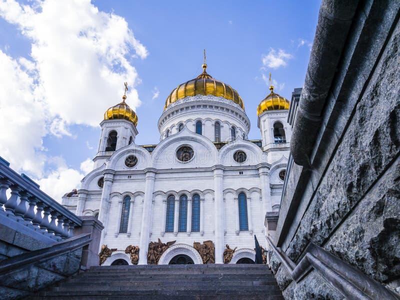 Cathédrale orthodoxe du Christ le sauveur, Moscou, Russie photo libre de droits