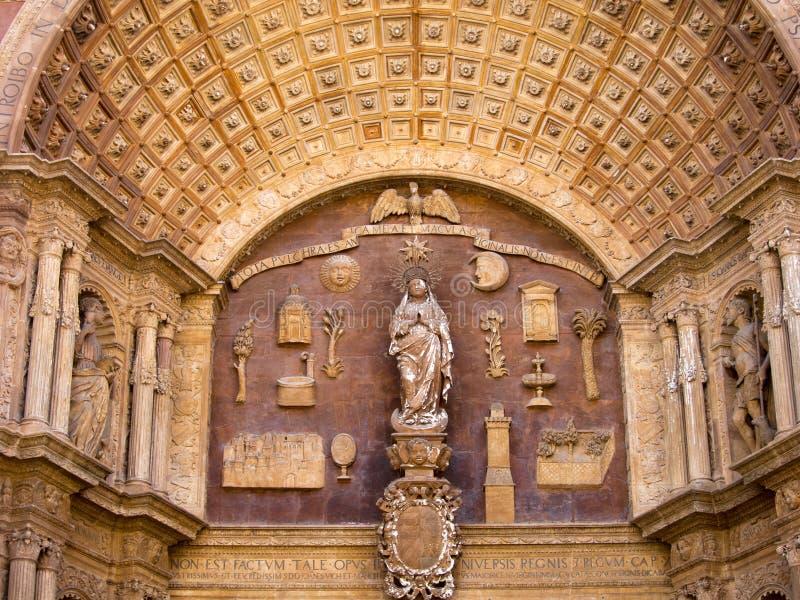 Cathédrale Palma de Mallorca photos stock