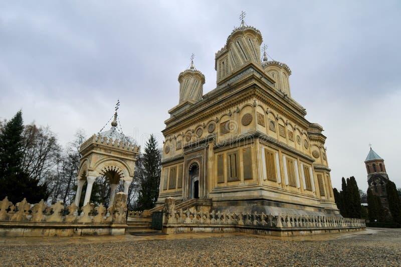 Cathédrale, Roumanie photo libre de droits