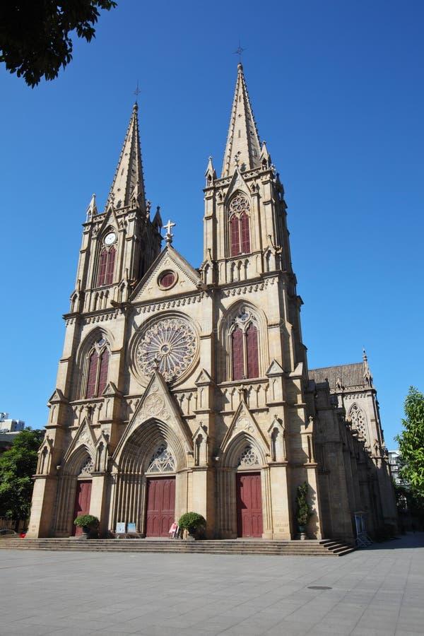Cathédrale sacrée de coeur photos stock