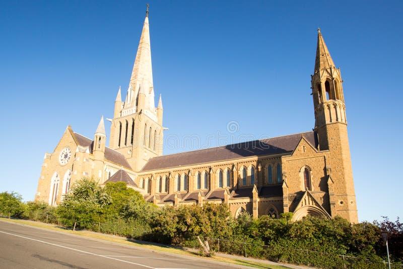 Cathédrale sacrée de coeur dans Bendigo photo stock