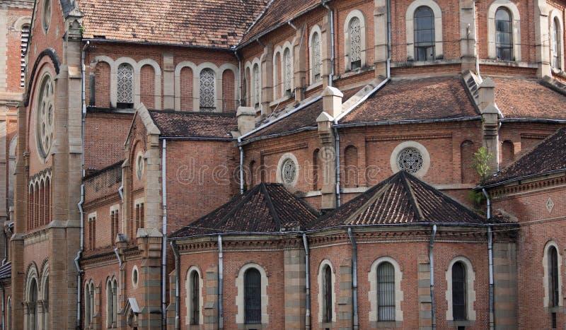 Cathédrale Saigon photographie stock libre de droits