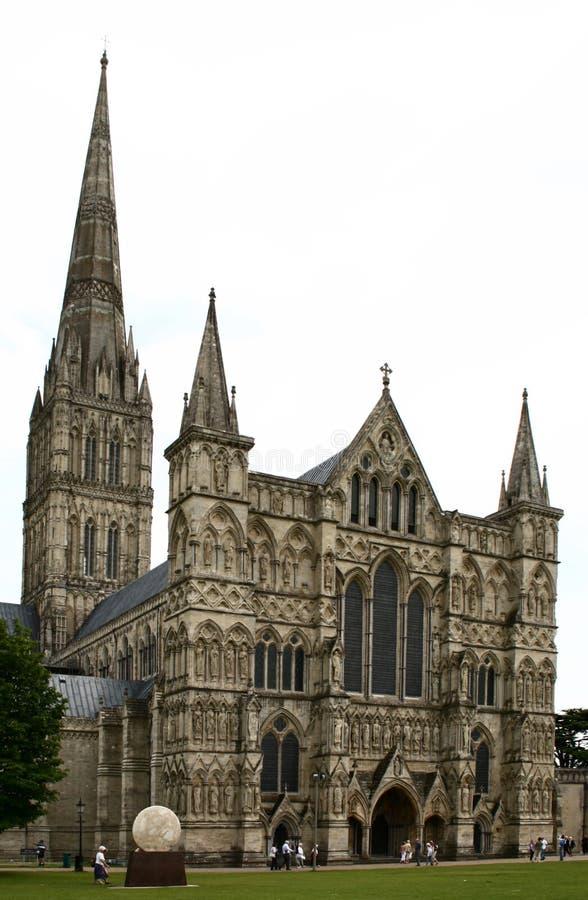 cathédrale Salisbury image stock