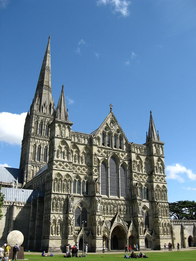 cathédrale Salisbury photo stock