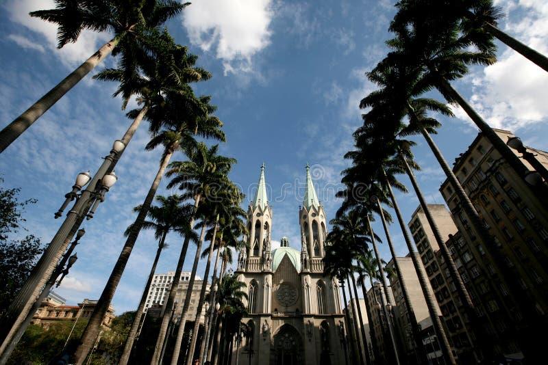 Cathédrale Sao Paulo de Se photos libres de droits