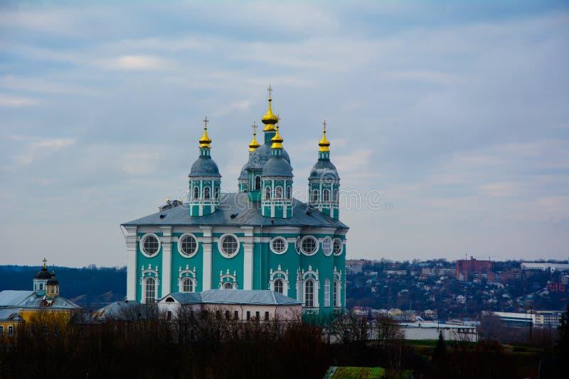 Cathédrale Smolensk d'hypothèse photos libres de droits