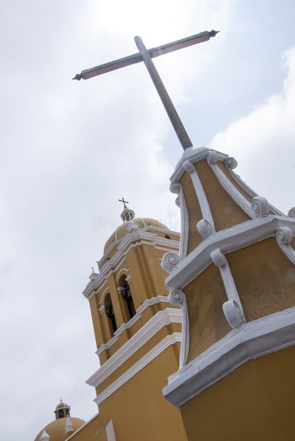 Cathédrale - Trujillo, Pérou image stock