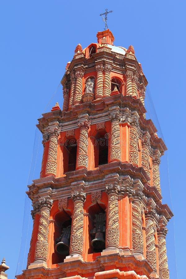 Cathédrale VI de San Luis Potosi images libres de droits