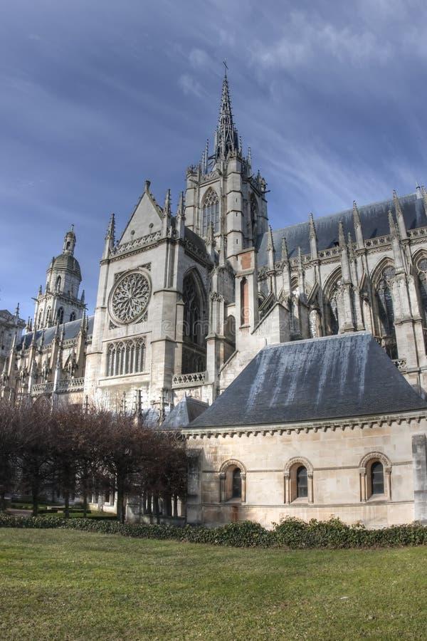 Cathédrales en France images libres de droits