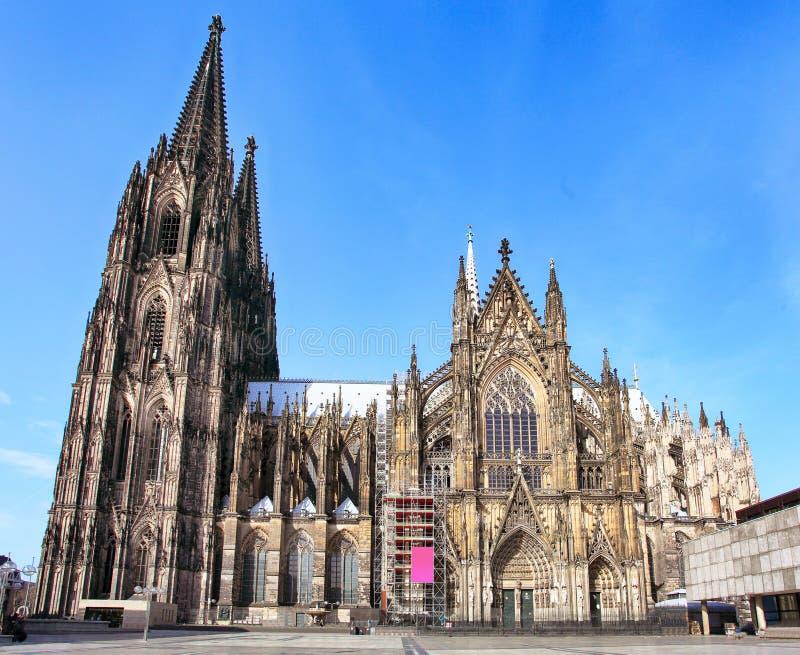 Cath?drale de Cologne en Allemagne images libres de droits