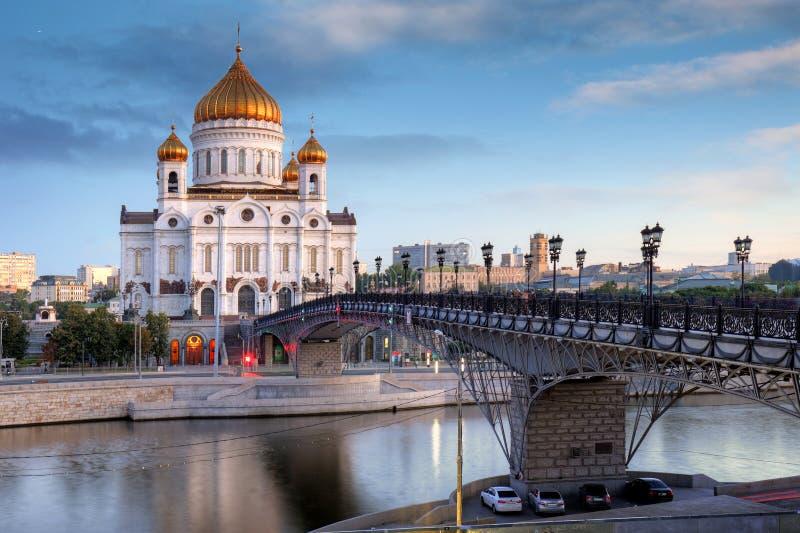 Cath?drale du Christ le sauveur ? Moscou, Russie image stock