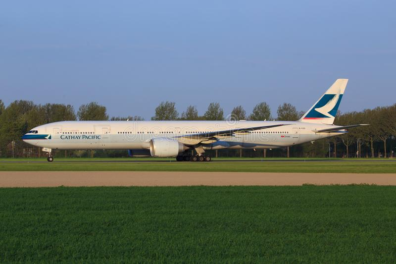 Cathay Pacific photos libres de droits