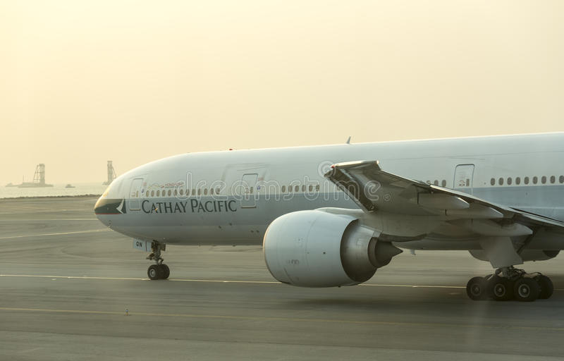 Cathay Pacific stock afbeelding
