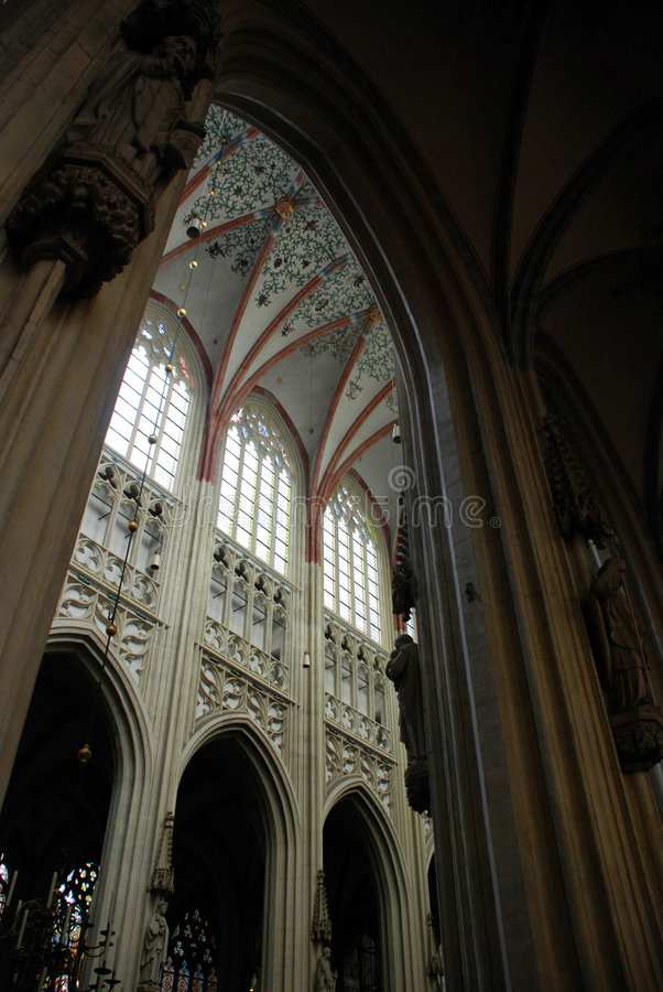 Cathdral Saint Jan Den Bosch Stock Photography