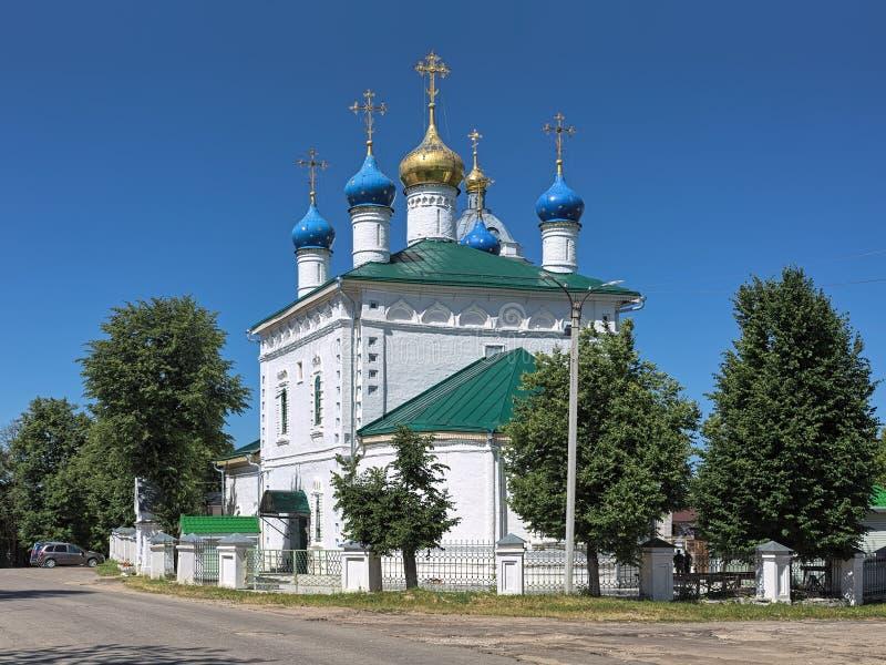 Cathedraal van de Nativiteit in Kovrov, Rusland royalty-vrije stock foto's