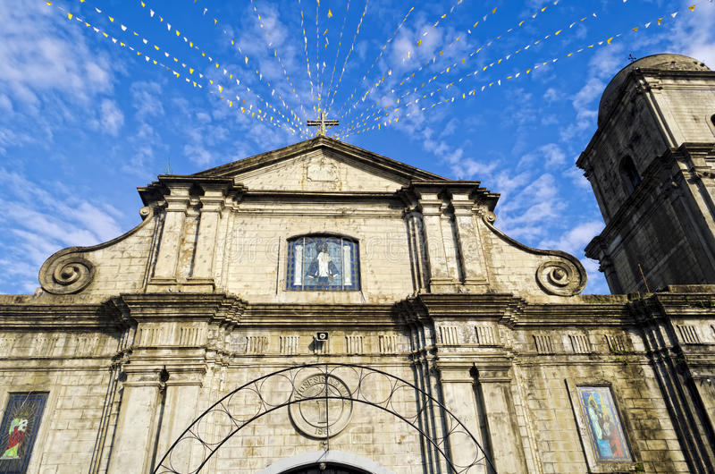 Cathedral. The Imus Cathedral in Imus, Cavite, Philippines stock image