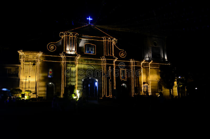 Cathedral. The Imus Cathedral in Imus, Cavite, Philippines royalty free stock photography