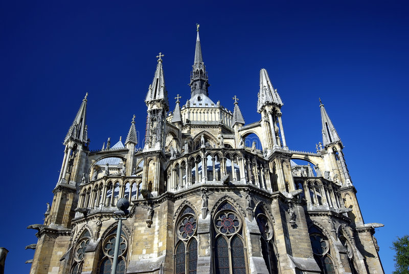 Download Cathedral stock photo. Image of ancient, city, blue, france - 7075614