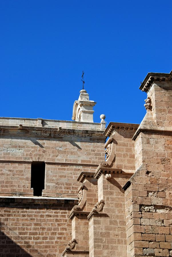 Cathedral, Almeria, Andalusia, Spain.
