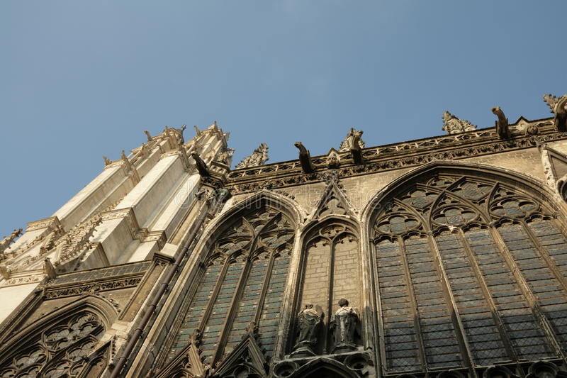 Cathedral of Amiens royalty free stock images
