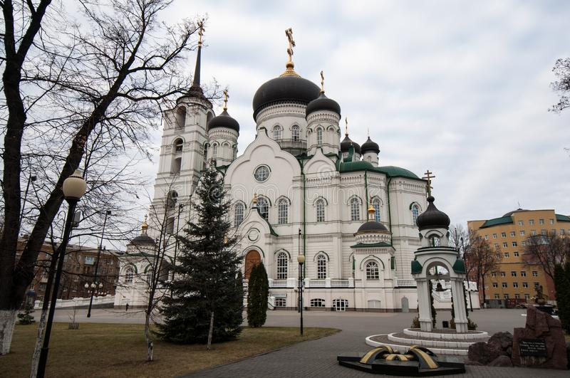 Annunciation Cathedral in Voronezh royalty free stock photography