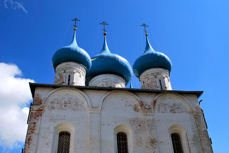 The Cathedral of the Annunciation in Gorokhovets. Vladimir Oblast, Russia royalty free stock images