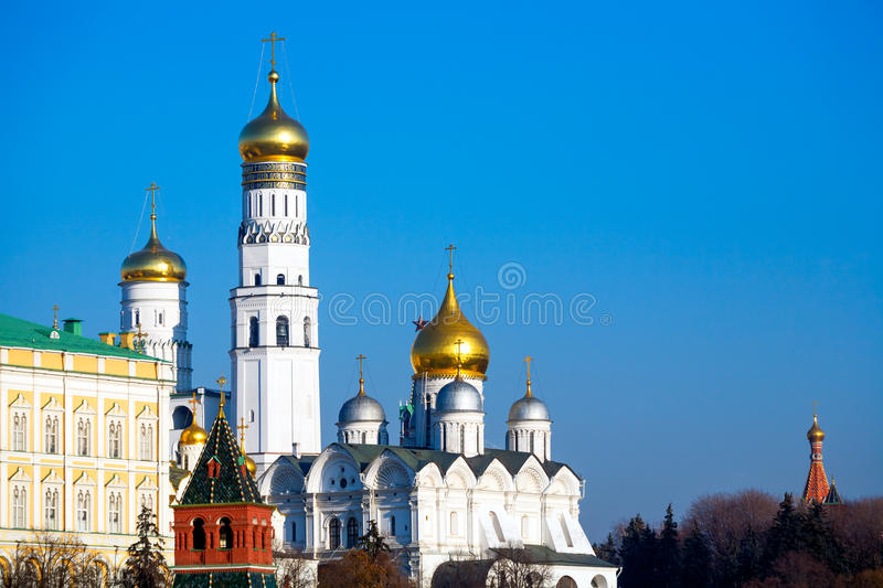 Cathedral Of The Archangel And Ivan The Great Royalty Free Stock Image
