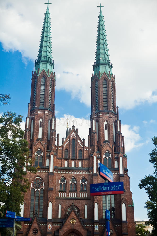 Download Cathedral Of The Archangel Michael And St. Florian Stock Photo - Image: 21573012