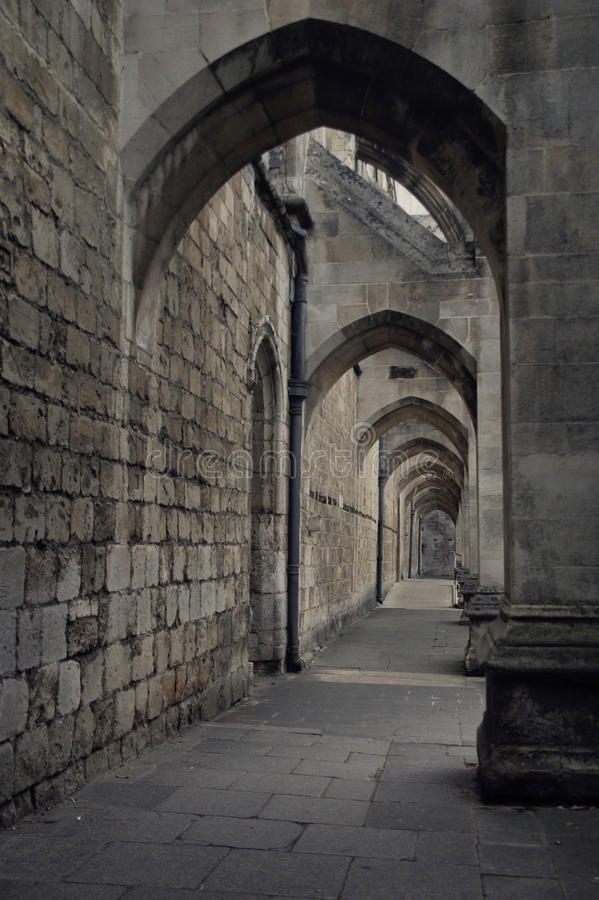 Cathedral Arches Stock Photography