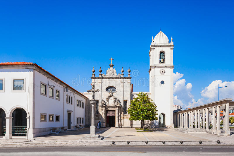 Cathedral of Aveiro. The Cathedral of Aveiro, also known as the Church of St. Dominic is a Roman Catholic cathedral in Aveiro, Portugal royalty free stock image