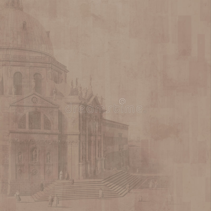 Download Cathedral Background (brown) Stock Photo - Image: 2524720
