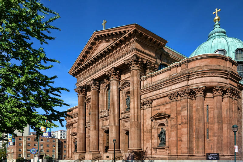 Download Cathedral Basilica Of Saints Peter And Paul Stock Photo - Image: 33247394