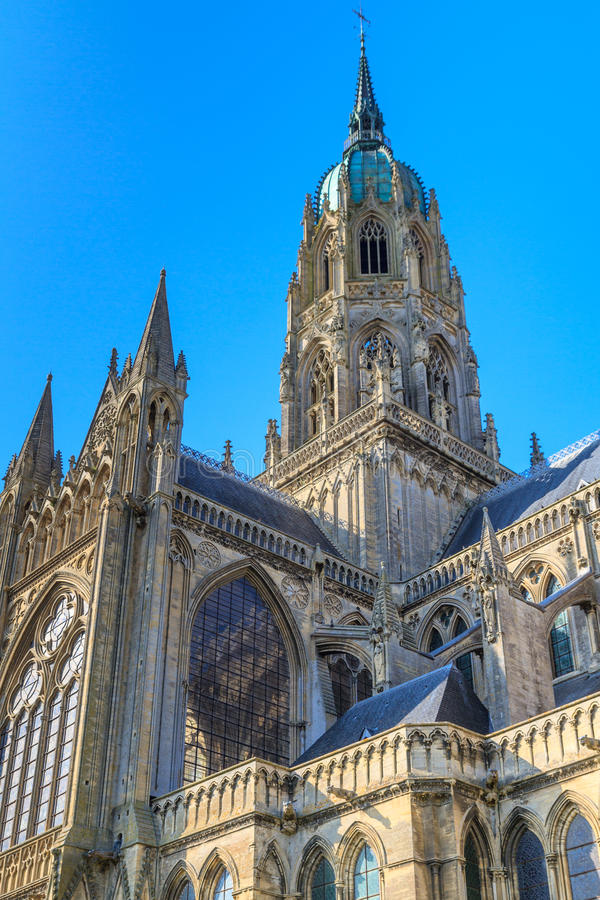 Download Cathedral Of Bayeux, Normandy, France Stock Photo - Image: 30721872