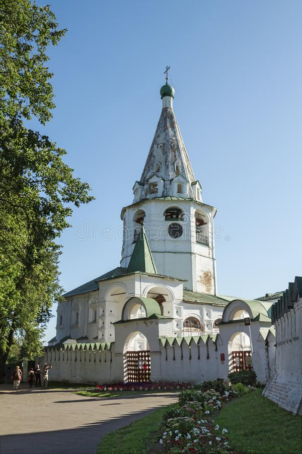 Cathedral bell tower. Suzdal Kremlin. Russia royalty free stock image