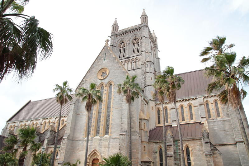Cathedral in Bermuda royalty free stock photo