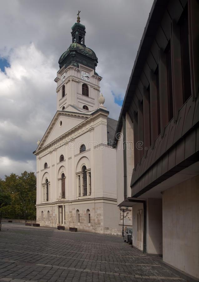 Cathedral Of The Blessed Virgin Mary In Gyor Royalty Free