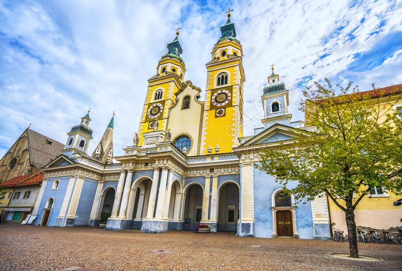 Cathedral of Bressanone or Brixen. Trentino Alto Adige Sud Tyrol, Italy. stock images