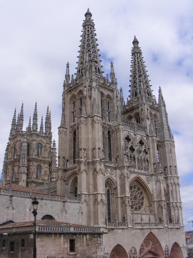 Download Cathedral of Burgos stock photo. Image of architecture - 18848304