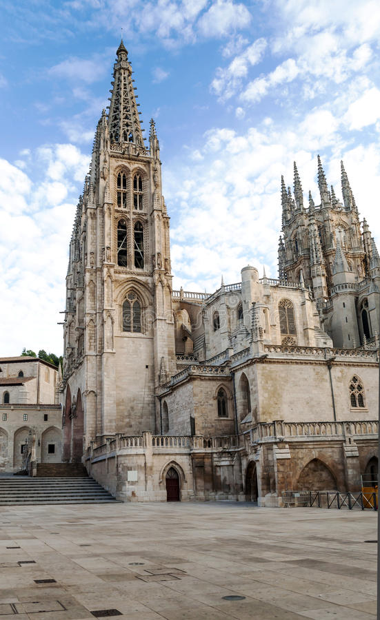 Download Cathedral of Burgos stock photo. Image of medieval, detail - 25646488