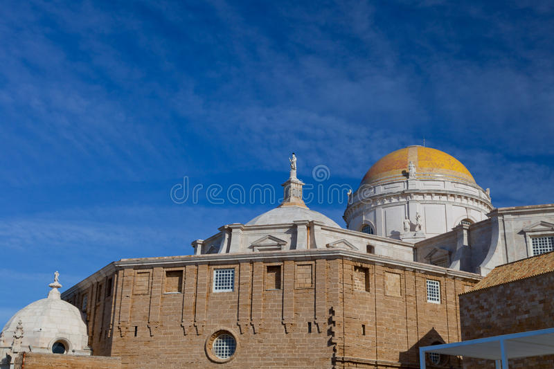 Cathedral of Cadiz royalty free stock image