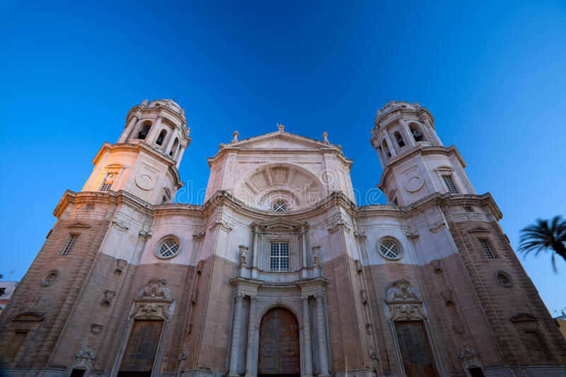 Cathedral of Cadiz royalty free stock images