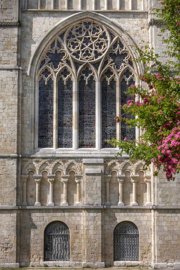 The Cathedral of Canterbury stock photography