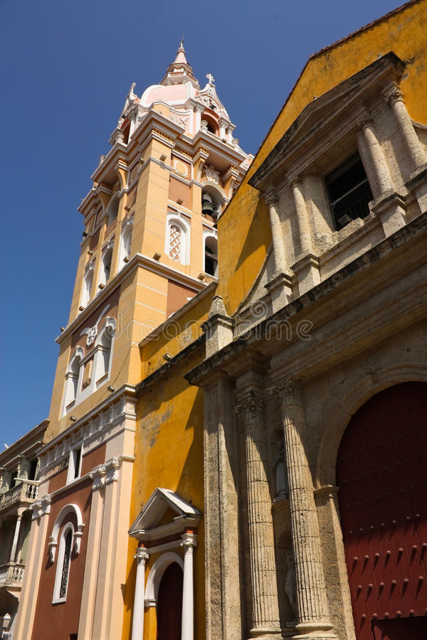 Cathedral of Cartagena de Indias royalty free stock photography